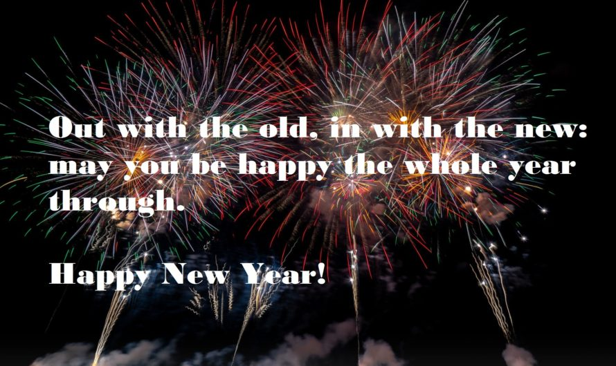 Latest Happy New Year Wishes Quotes & Messages