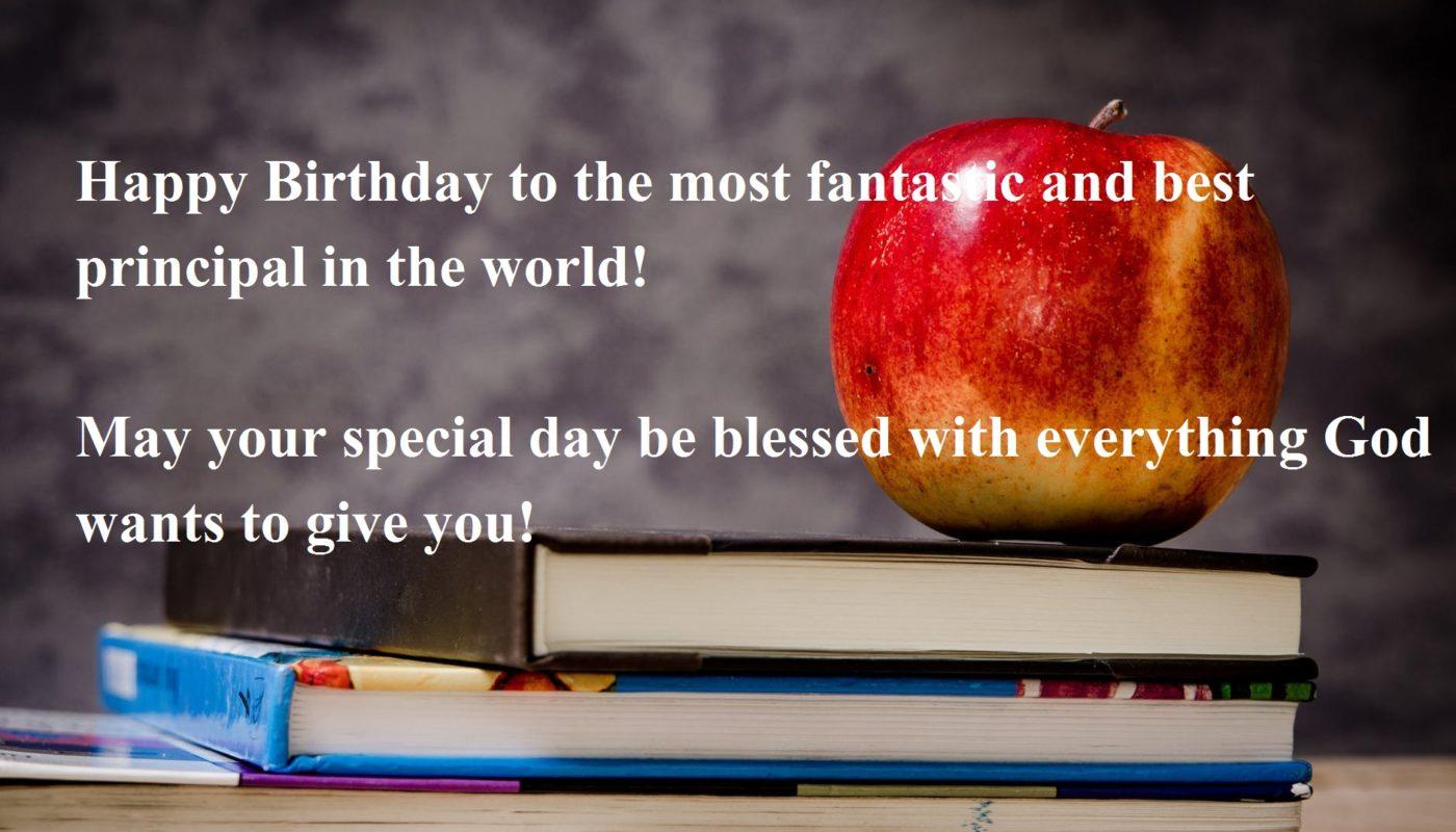 Happy Birthday Wishes for Teacher & Principal