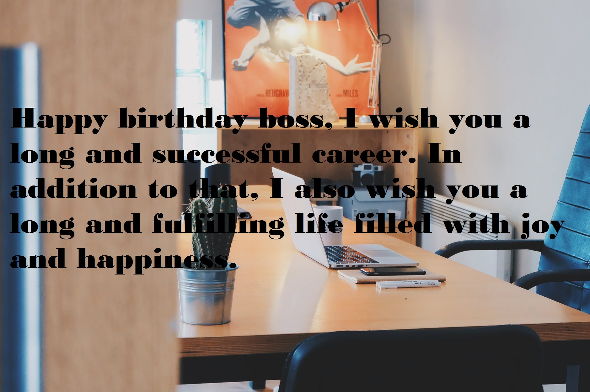 Birthday Wishes for Boss in English & Hindi