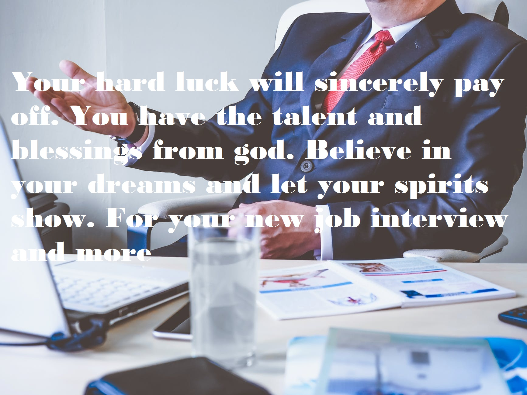 Best Wishes for Interview