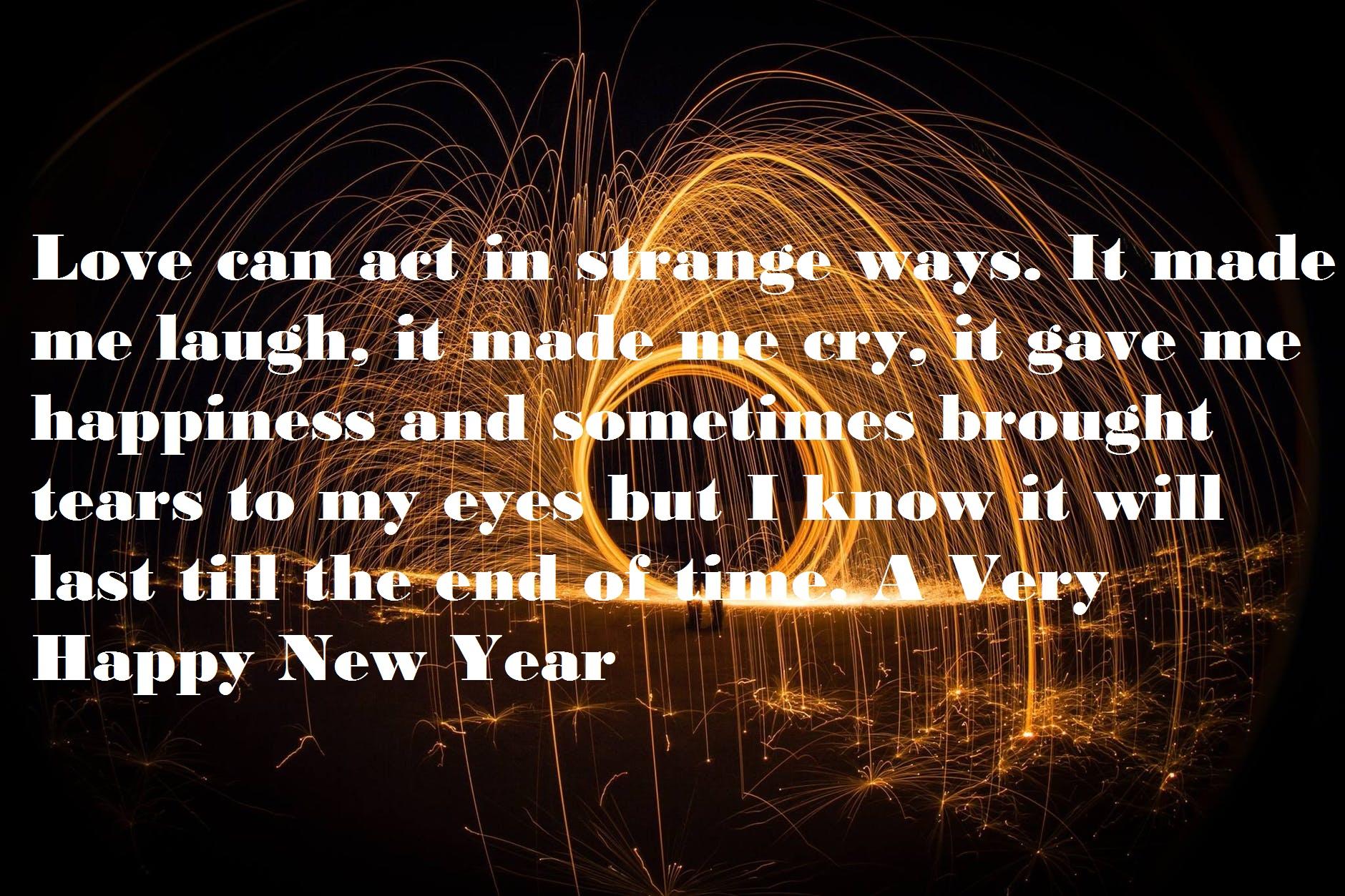 New Year Wishes for Boyfriend & Girlfriend