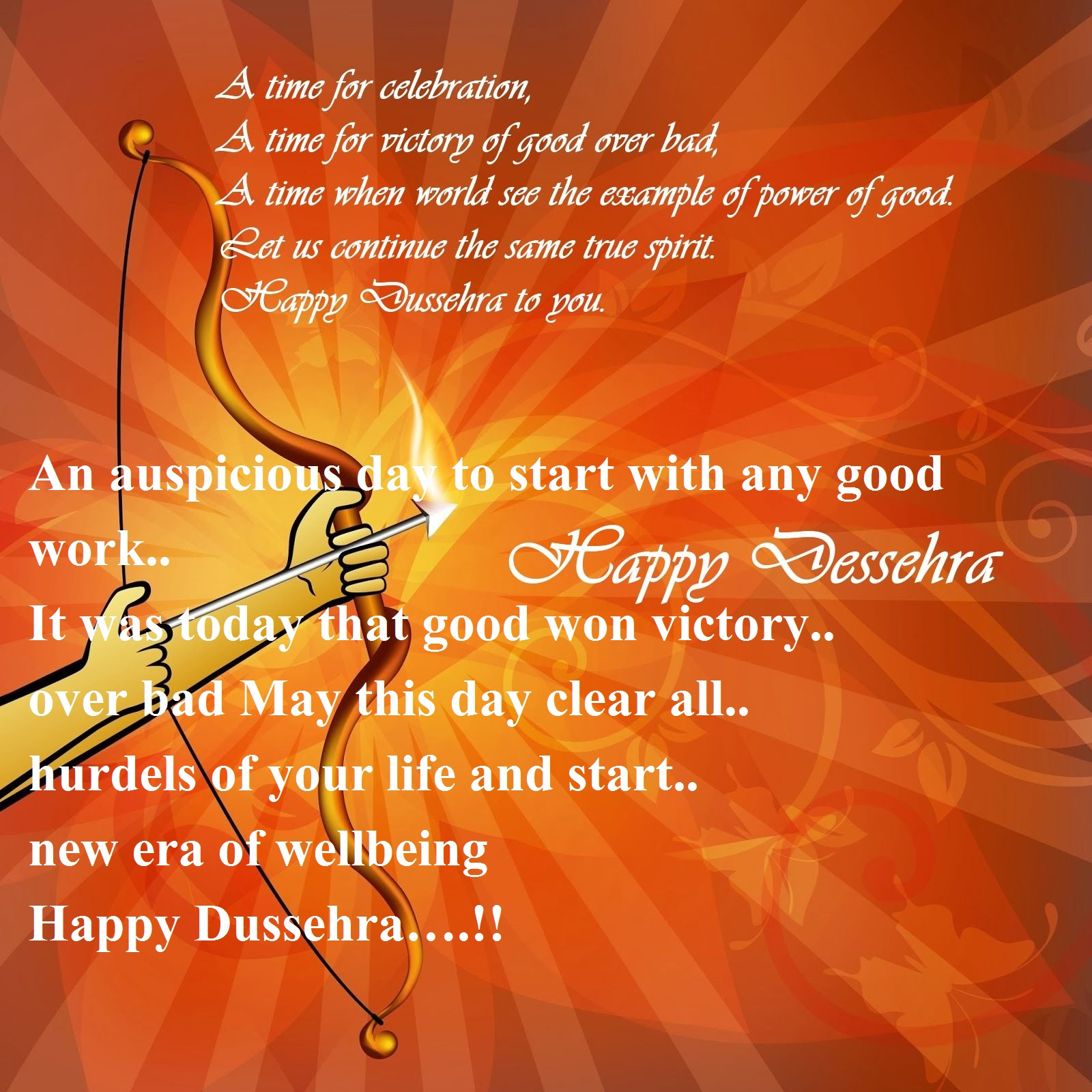 Dussehra Wishes Quotes in English