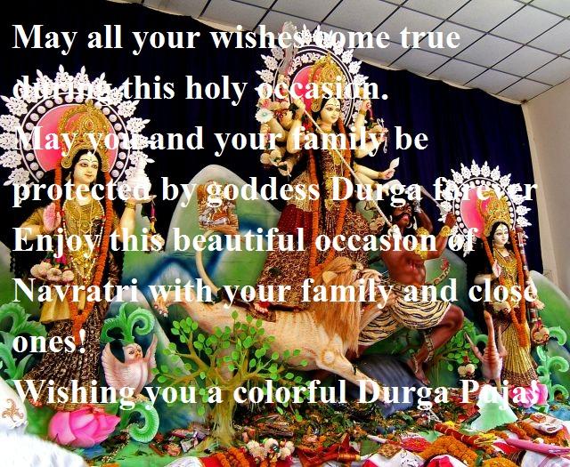 Happy Durga Puja Wishes