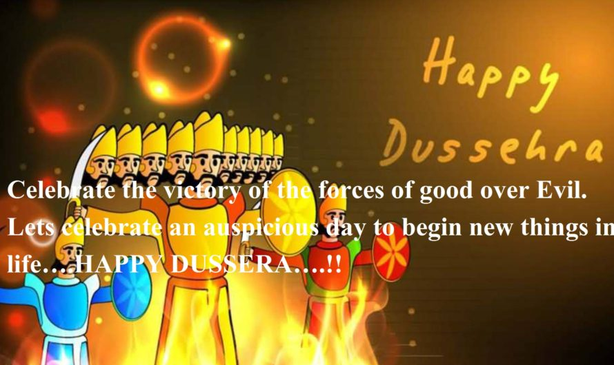 Happy Dussehra Wishes in Hindi & English for Whatsapp