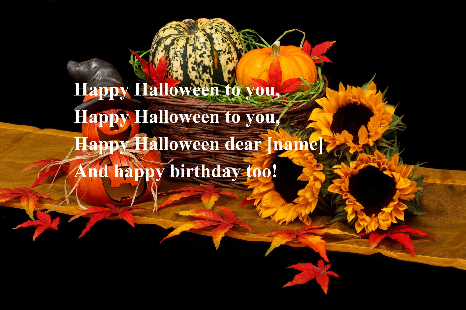 Happy Halloween Birthday Wishes
