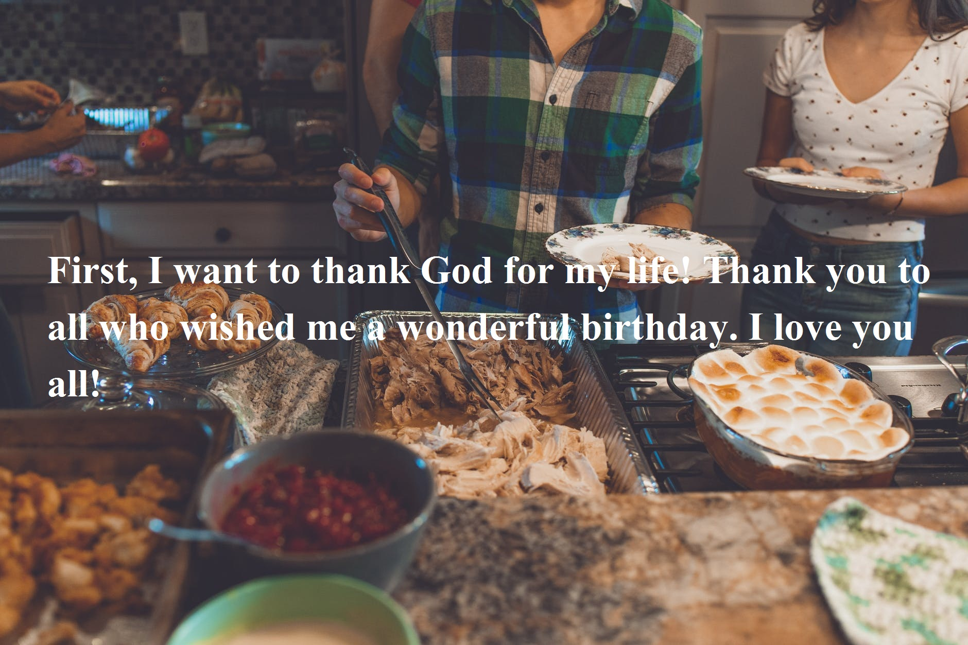 Thanksgiving for Birthday Wishes