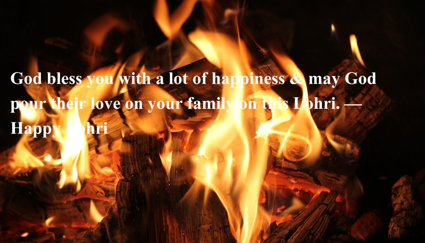 Happy Lohri Wishes in Hindi
