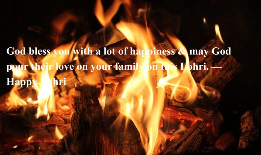 Happy Lohri Wishes in Hindi, English & Punjabi   Makar Sankranti Wishes