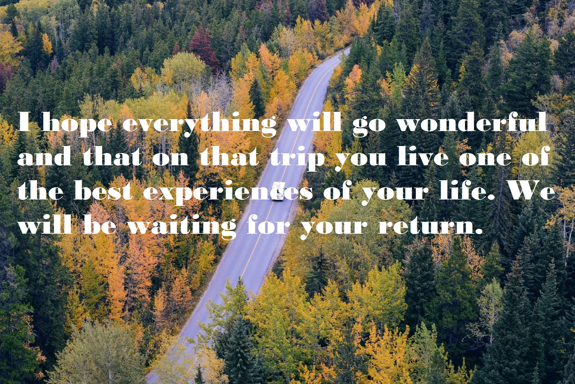Good Wishes for Journey
