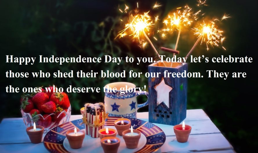 Motivational Happy Independence Day wishes in Hindi & English