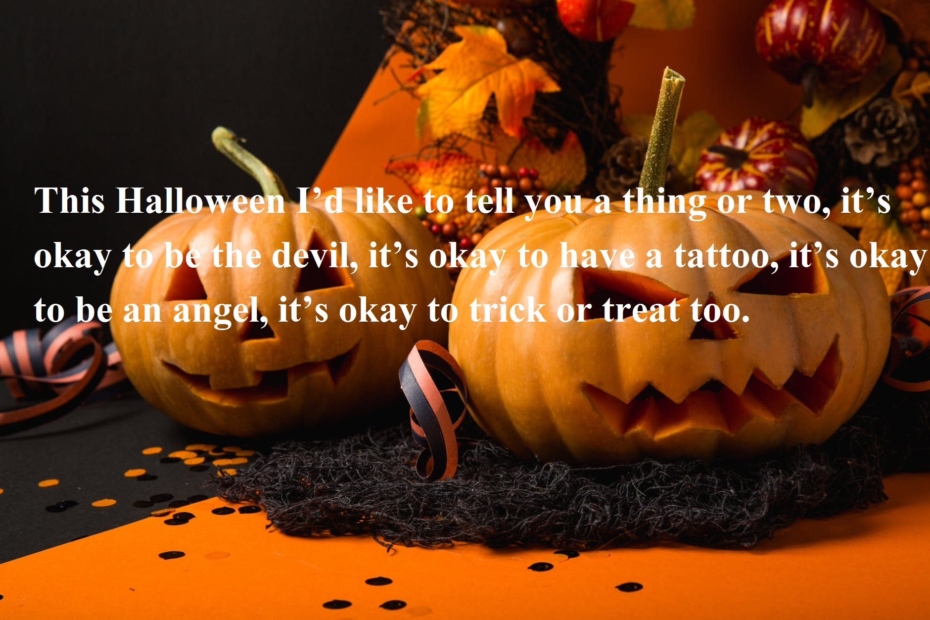 Scary Happy Halloween Wishes Messages