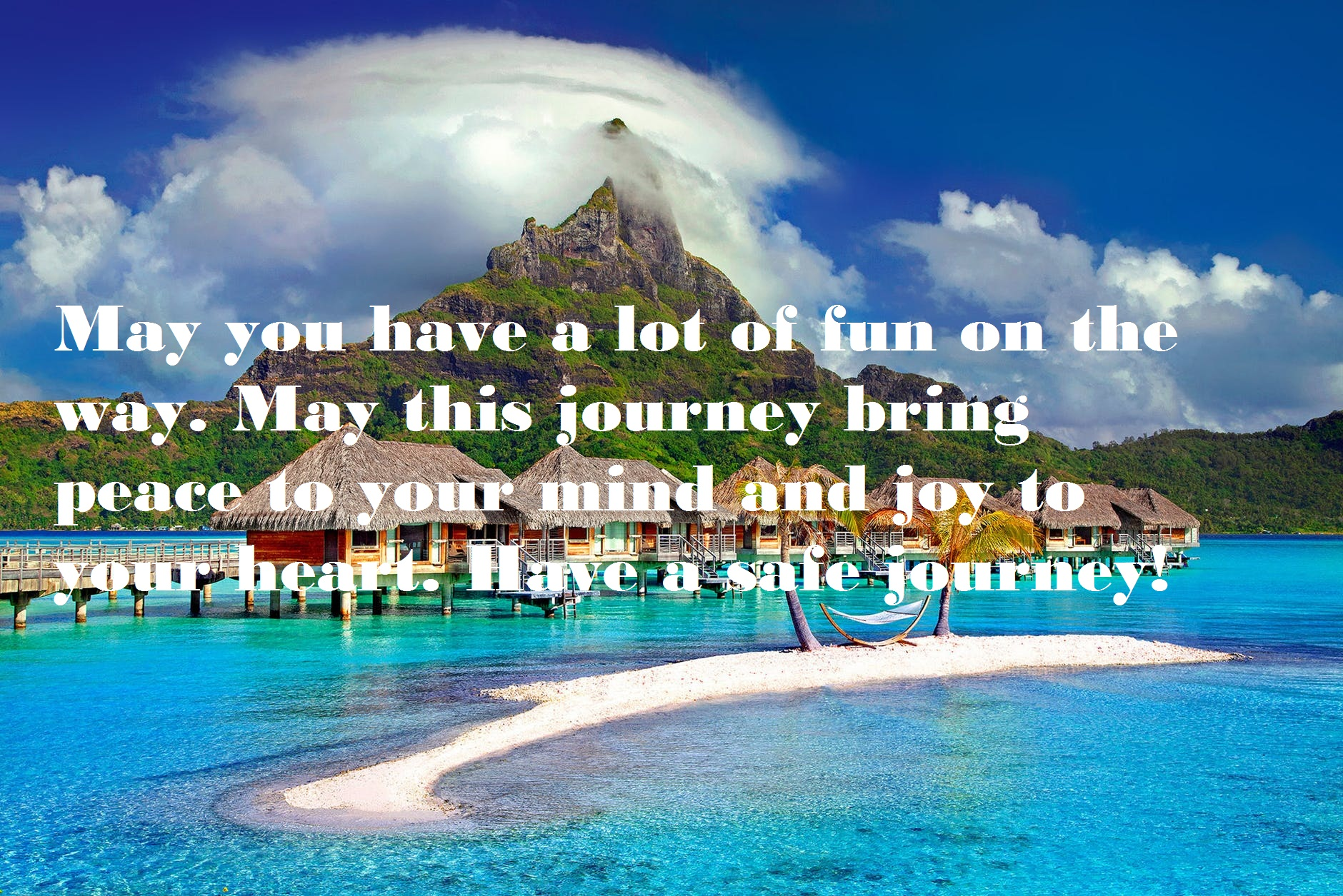 Best Wishes for Travelling Abroad