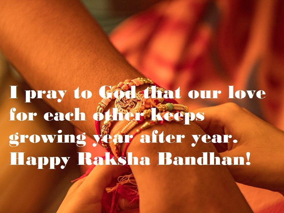 Happy Raksha Bandhan Wishes Quotes Brother