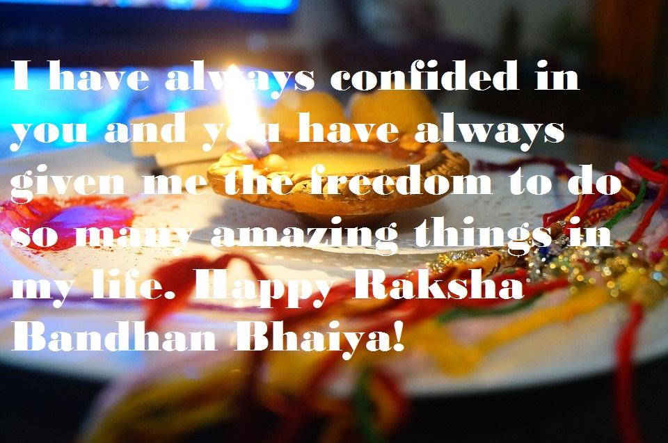 Happy Raksha Bandhan Wishes for Brother & Sister