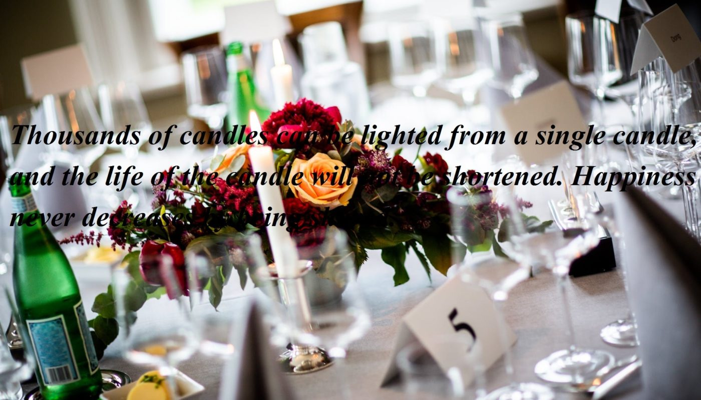 Wedding candle quotes