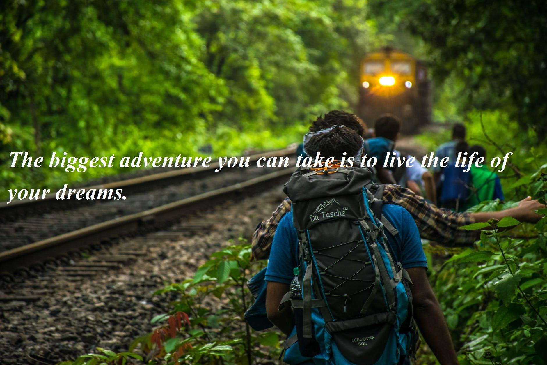 Famous Adventure Quotes