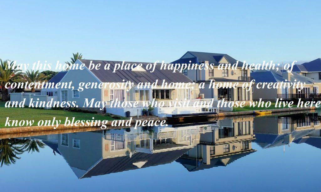 House Blessing Prayer