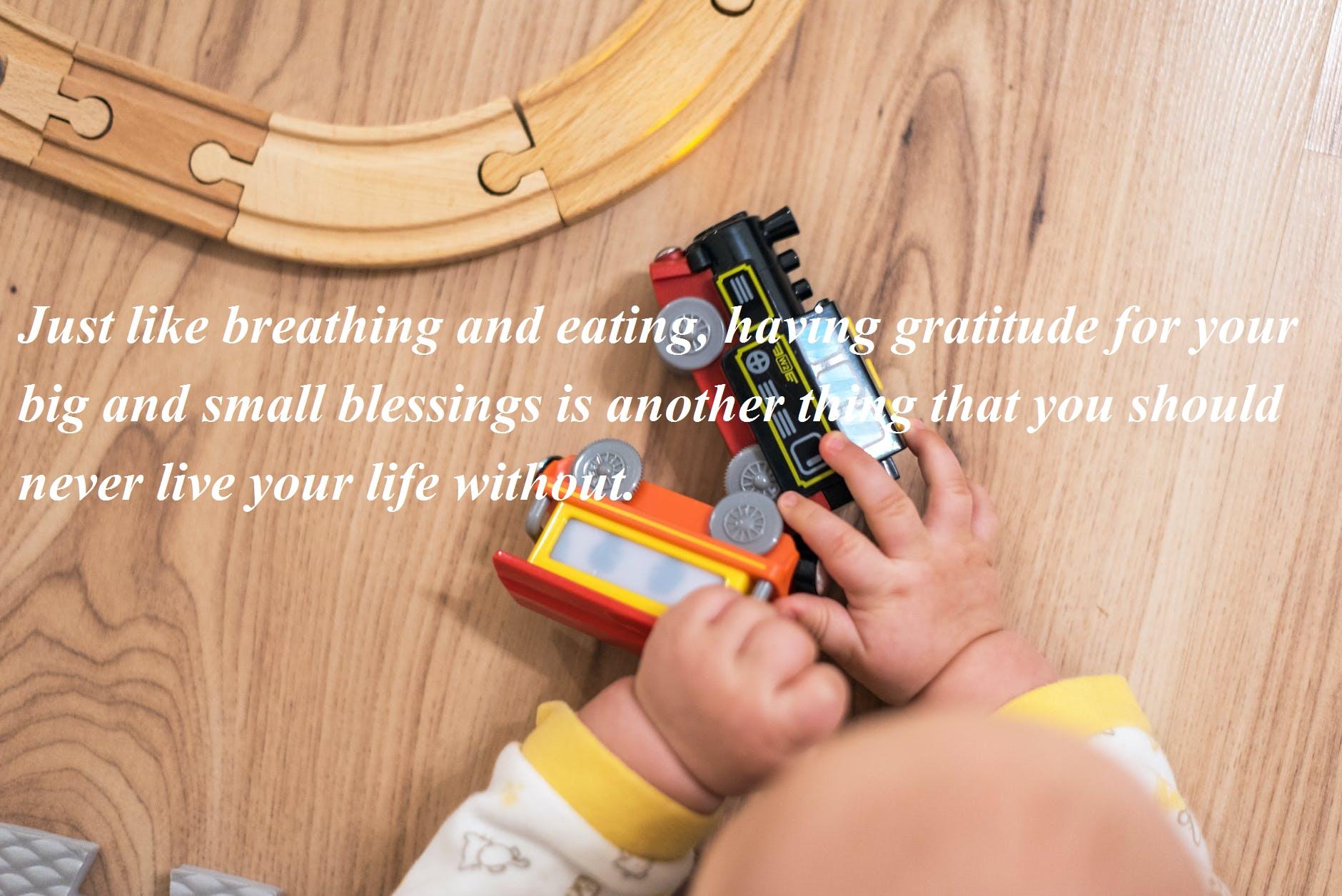 Tiny Blessing
